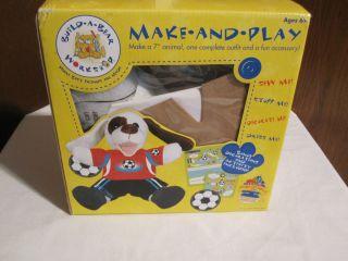 Build A Bear Workshop Make and Play 7 Puppy Dog Kit New in Box Bonus