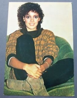 JENNIFER BEALS Rare TURKISH Postcard POSTER 55061