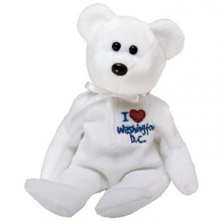 TY Beanie Baby   WASHINGTON DC the Bear (I Love Washington DC   Show