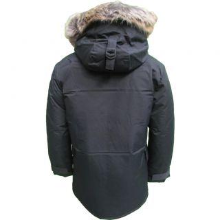 Ben Sherman Mens Hooded Parka Jacket UK s 3XL Autumn Winter 2012 13