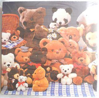Teddy Bears Bear Eaton Jigsaw Puzzle Treasure Collection New 1984