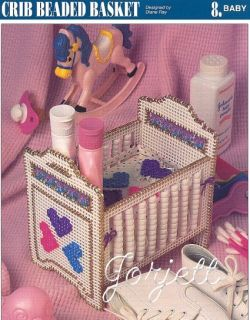 Crib Beaded Basket Annies Plastic Canvas Pattern