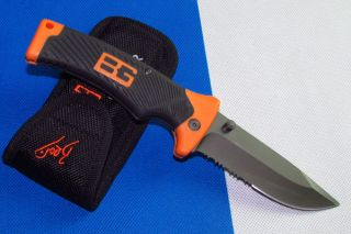 Gerber Bear Grylls Survival Pocket Knife Bear Grylls Sheath