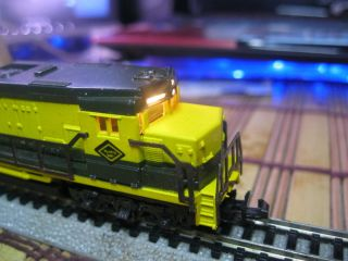 lima n scale diesel locomotive engine model train
