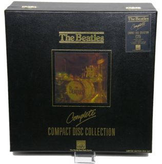 the beatles complete compact disc collection hmv limited edition box