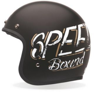 BELL Custom 500 DOT Motorcycle Helmet LARGE Scratch Bonneville & draw