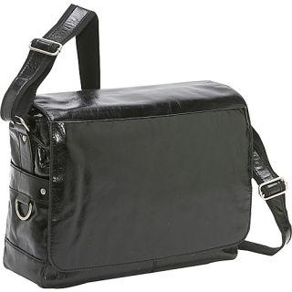 click an image to enlarge bellino messenger bag black