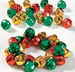 description jingle bells tri color bracelet craft kit makes 1 bracelet
