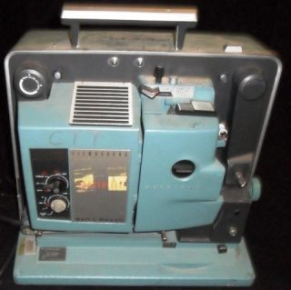 Bell Howell Vintage Filmosound Movie Projector 550 Used
