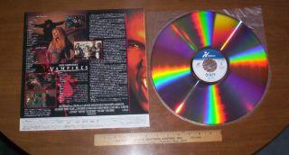 Japan LD John Carpenters Vampires 2 35 1 WS Dolby Digital Super RARE