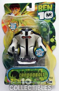 Ben 10 Original Series Action Figure Cannonbolt Battle