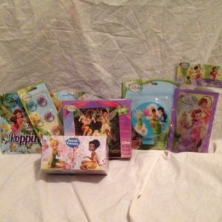 Piece Stocking Stuffer Lot of Disney Fairy Tinkerbell Christmas GIFT