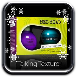 TIGI Bedhead 2012 Talking Texture Christmas Set Small Talk Hard to Get