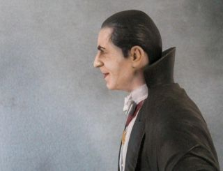 Bela Lugosi Count Dracula Large Vinyl Model McVey Masterpiece Mint