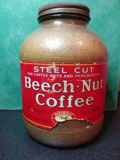 Beech Nut Jar Coffee Steel Cut 1 Pound