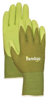 Atlas Bellingham C5301M Medium Bamboo Gardening Gloves w Rubber Palm