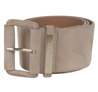 CHANEL Suede Leather Waist Belt NEW Size 85/34 Retail Price $795
