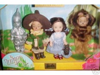 Kelly and Friends Wizard of oz Barbie Collection Set