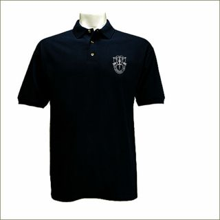 US Special Forces Green Berets Black Polo Style T Shirt