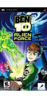 Sony PSP Ben 10 Alien Force Awesome Game Factory SEALED