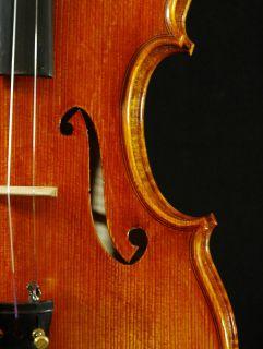Fine Italian Violin labeled Gustavo Belli c 2001 4 4 old antique model