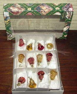 Merck Familys Old World Christmas Boxed Set Ornaments New