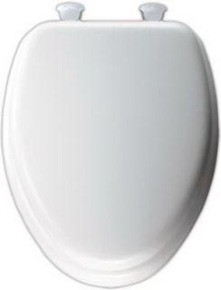 Bemis Mayfair Deluxe Soft White Elongated Toilet Seat
