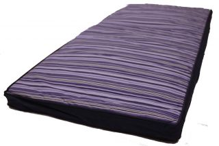 Bench Cushion Seat Pad Approx 41 x 17 Purple Stripe High Quality