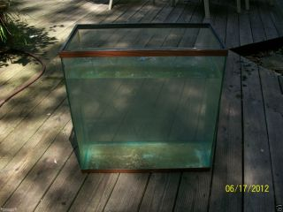 30 gallon fish aquarium tank used glass no leaks 20x10x18 5 NICE