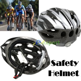 New 2011 Bicycle Adult Mens Bike Safety Helmet Cycling Silver