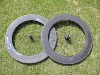 tubular full carbon wheel set carbon fiber bike wheels 700C Road Bike