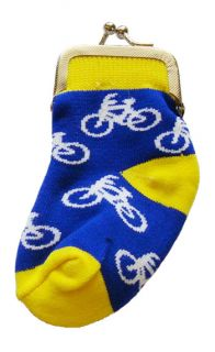 Bicycles Style Baby Sock Change Coin Purse New