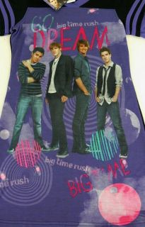 big time rush sleepshirt brand new with tags girls size