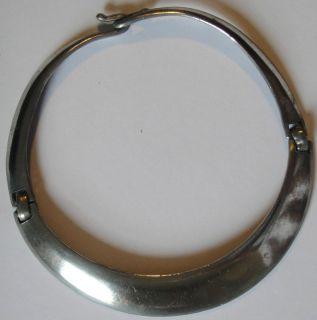 Vintage Modern Ben Amun Silver Tone Choker Necklace