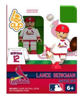 Lance Berkman Oyo Mini Fig Figure Lego Compatible St Louis Cardinals