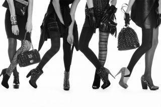 Berkshire Legwear Fashion Trend Heather Black Tights 4045