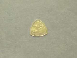 1996 bermuda $ 3 three dollar gold proof coin