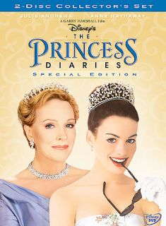 The Princess Diaries DVD, 2004, 2 Disc Set, Special Edition
