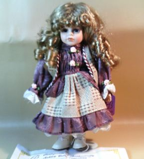 ASHLEY BELLE COLLECTION DOLL, BETTY, AUTHENTICITY CERTIFICATE