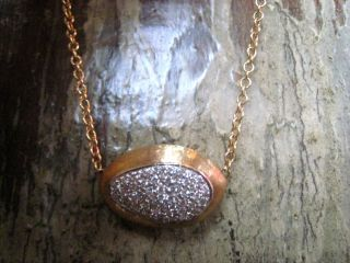 MARCO BICEGO CONFETTI LARGE 18K YELLOW GOLD NECKLACE .32ct Diamonds