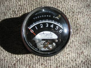 Airguide Tachometer Model Number 654 Vintage Mercury Johnson Outboard