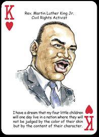BLACK AMERICA AFRICAN AMERICANS POKER PLAYING CARDS NIB MUST