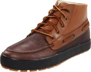 Polo Ralph Lauren Mens Delmont Tan Brown Lace Up Casual Chukka Boots