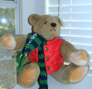 Vintage 1982 Bialosky GUND Teddy Plush Bear