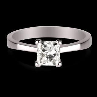 ct d vs diamond engagement ring white gold 14k