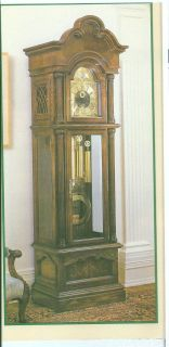 Howard Miller Benjamin Harrison Grandfather Clock Model 610 323