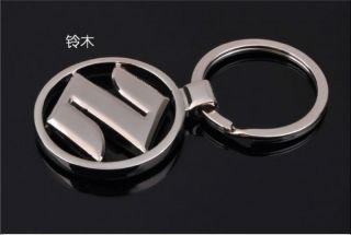 Japan Suzuki Car Logo Metal Key Chain Ring Kizashi SJ125 B GX125 SJ110