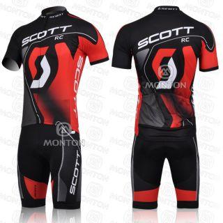 2012 Team Cycling Bicycle Suit Jersey Bib Shorts Bike Racing Clothing