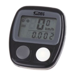 LCD Digital Bike Cycling Cycle Bicycle Computer Odometer Speedometer