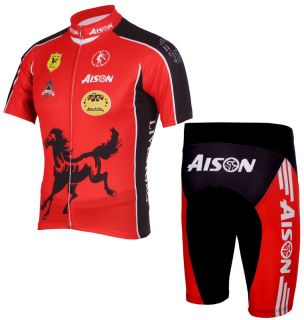 Outdoor Sports Cycling Jersey Short Bicycle Shirt Bike Wear Suit PSNTS